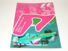 AUSTRIAN GP F1 1998 race program
